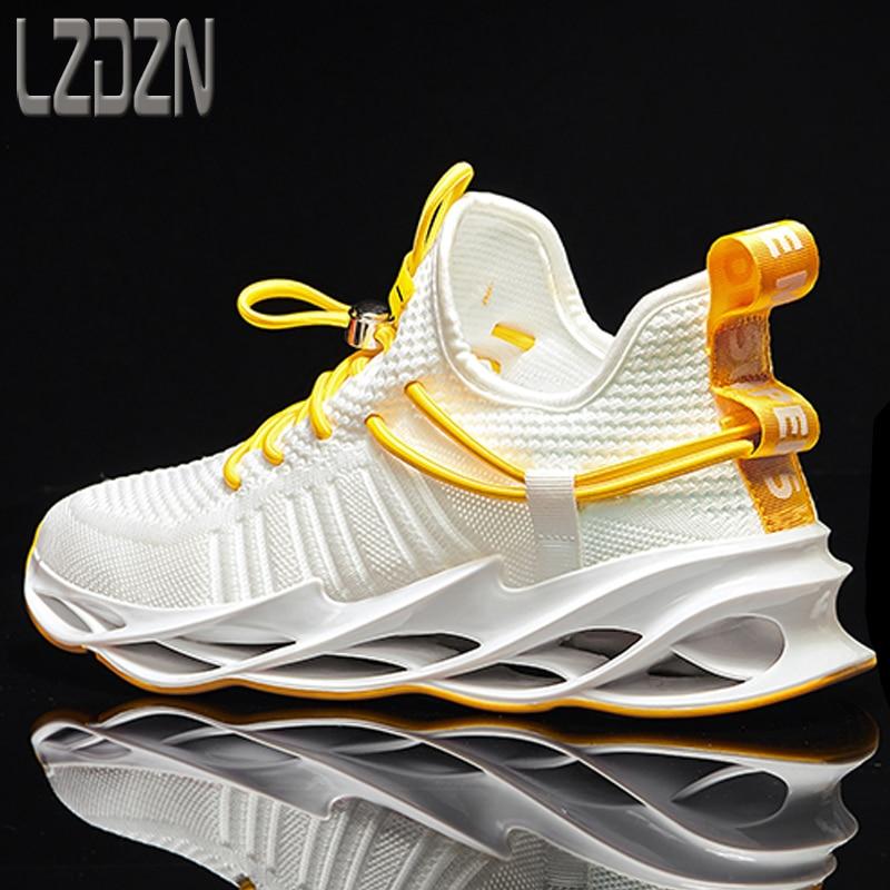 2021 nouveau printemps été chaussures pour hommes pour hommes sport baskets loisirs Absorption des chocs Marathon course pleine paume coussin d'air Tenis