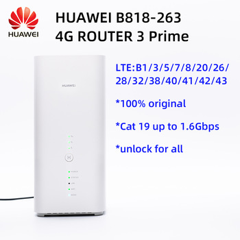 Huawei B818 4G Router 3 Prime LTE CAT19 Router B818-263 optus version 1