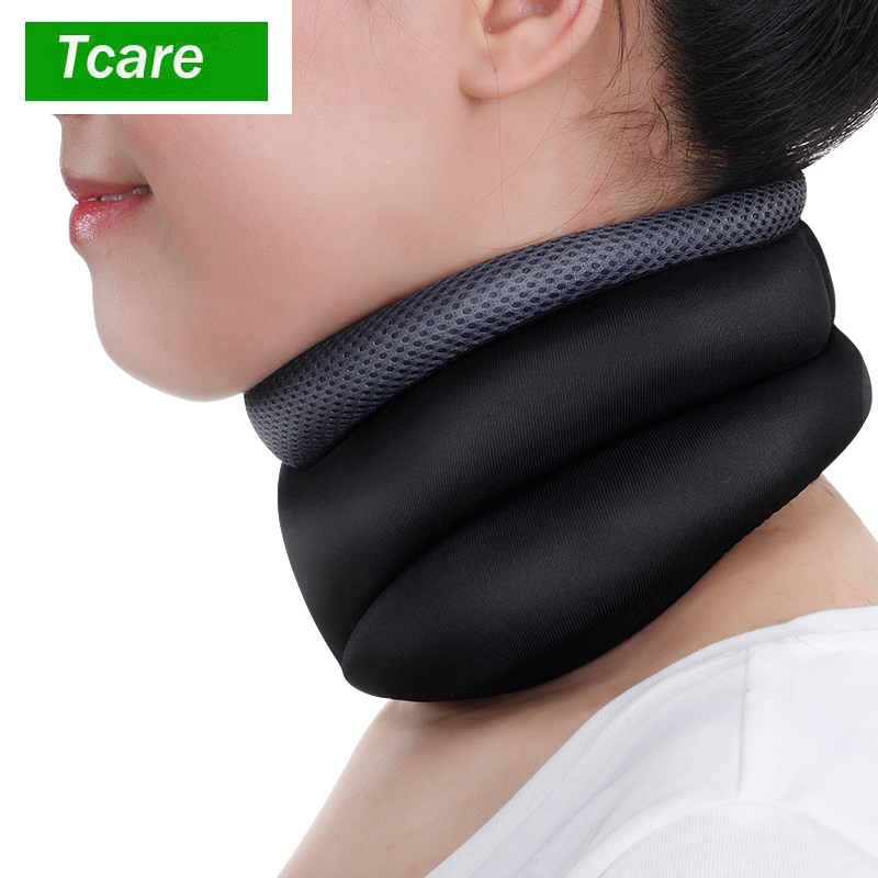 Tcar New Cozy cervical traction device household Cervical Collar Neck brace Traction Care Massage Relaxation