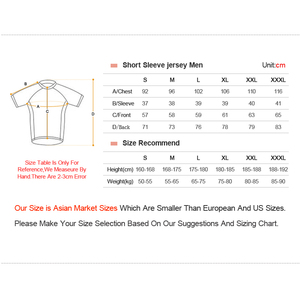 Image 5 - Men Short sleeve Cycling Jersey Mtb Road Bicycle Shirt Summer Breathable Bike Jersey Cycling Clothing Maillot Ciclismo