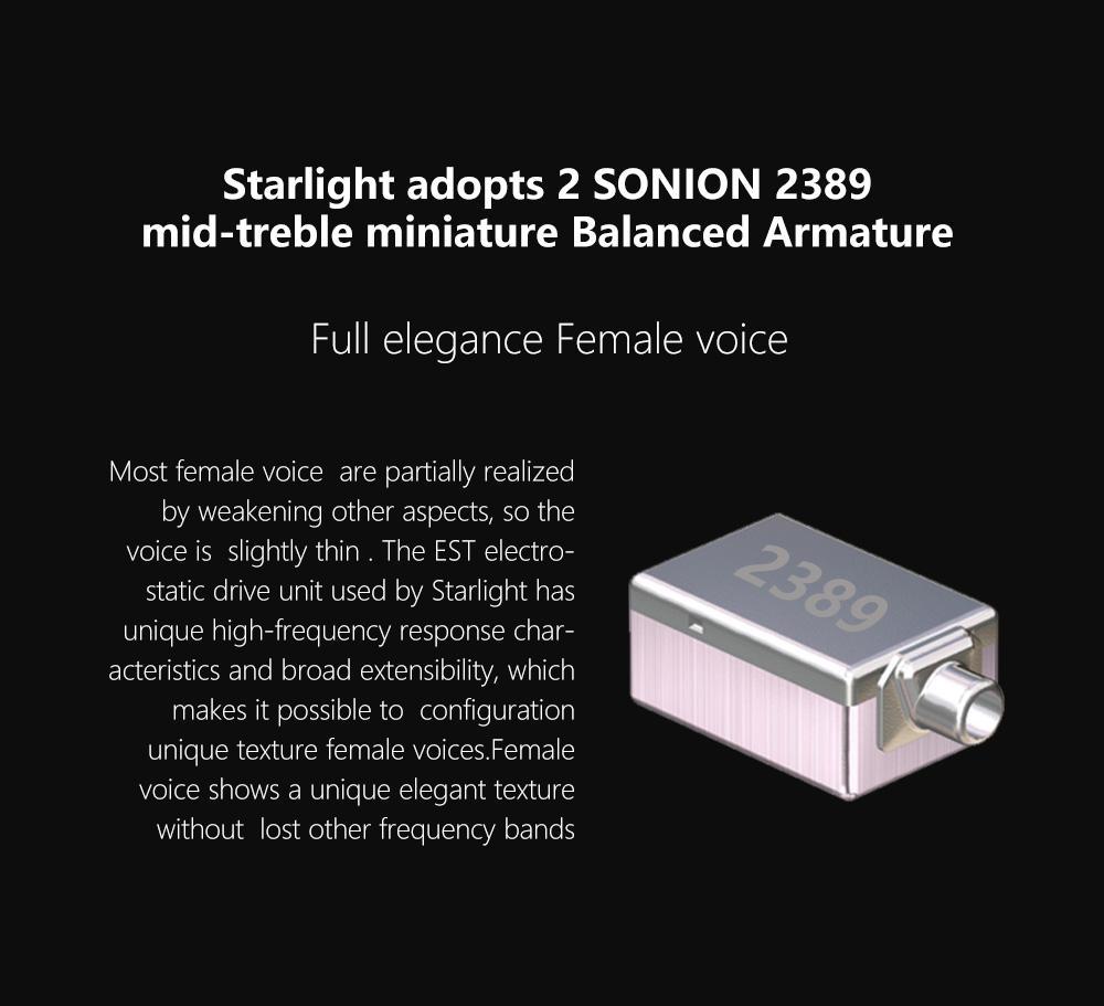 Tri starlight híbrido 14 unidades de alta