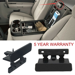 Center Console Armrest Latch Lid Lock For Chevy GMC Silverado Sierra Tahoe Yukon APR-17 2007 2008 2009 2010 2011 2012 2013 2014