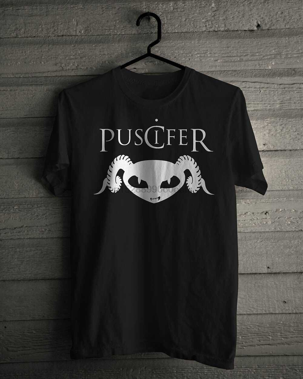 Nieuwe Puscifer Alternatieve Rock Band Basic Zwart T-Shirt Maat S-5XL