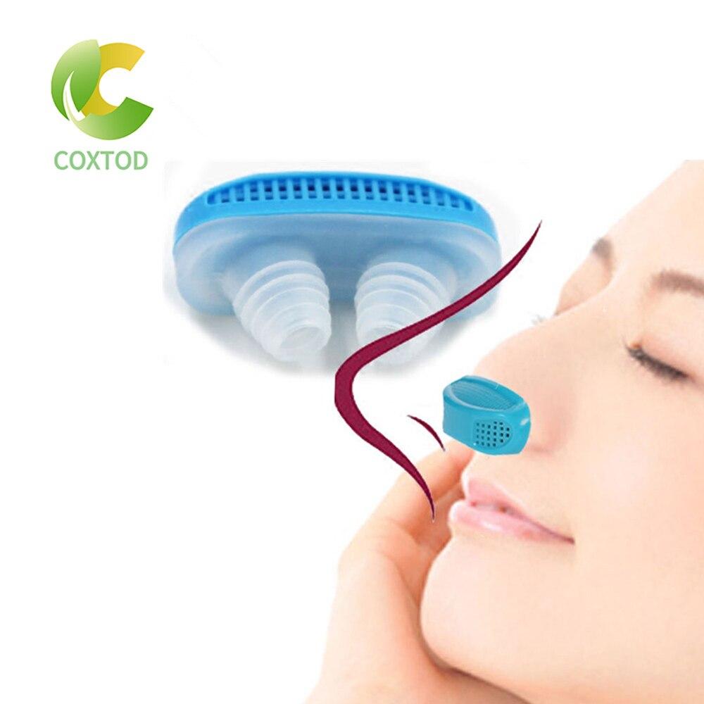 PM2.5 patente CPAP ronquido dispositivo de ventilación anti apnea y ronquido Aparato de respiración Nasal congestión Nasal purificador de aire limpio