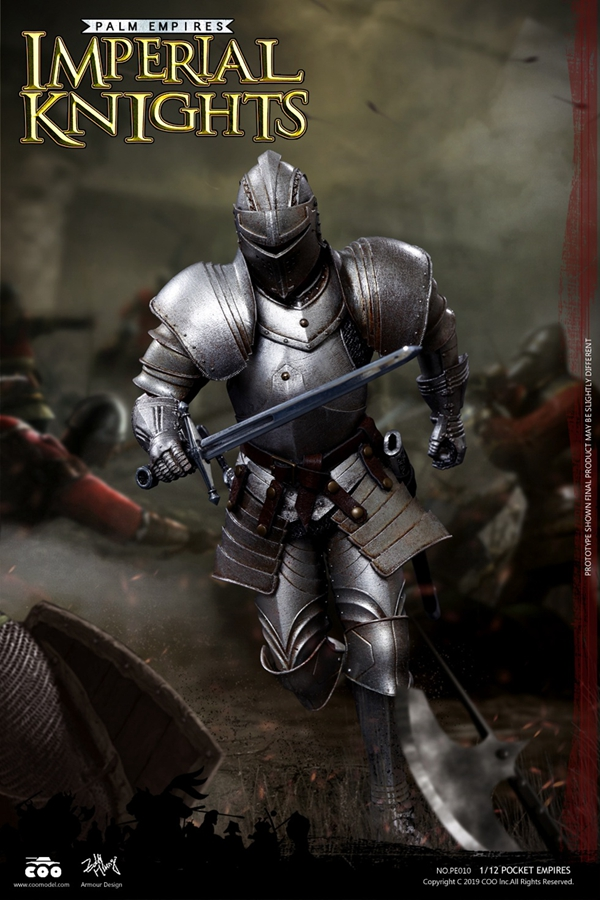 1//12 scale Toy-Palm Empire-Gothic Knight-Metal Mace