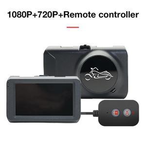 Image 5 - Câmera da motocicleta dvr locomotiva gravador frente e traseira dupla lente traço cam com gravação de pista dupla escondida gravador de condução