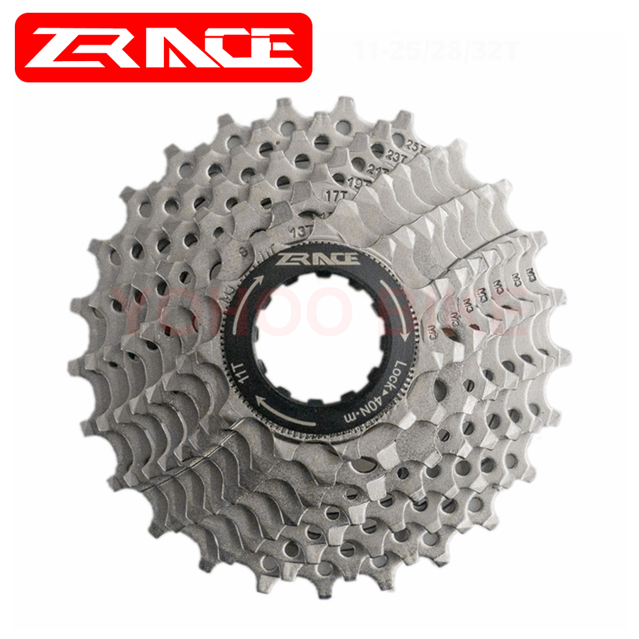 ZRACE Bike Freewheel 8S 9S 10S 11S Road/MTB <font><b>Cassette</b></font> 8 9 10 <font><b>11</b></font> Speed 25T/28T/32T/34T/36T Compatible For Ultegra 105 R8000 R70000 image