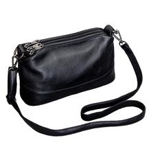 Sac à bandoulière en cuir véritable pour femmes, sacs à main de luxe Fashion, fourre tout, sacoche