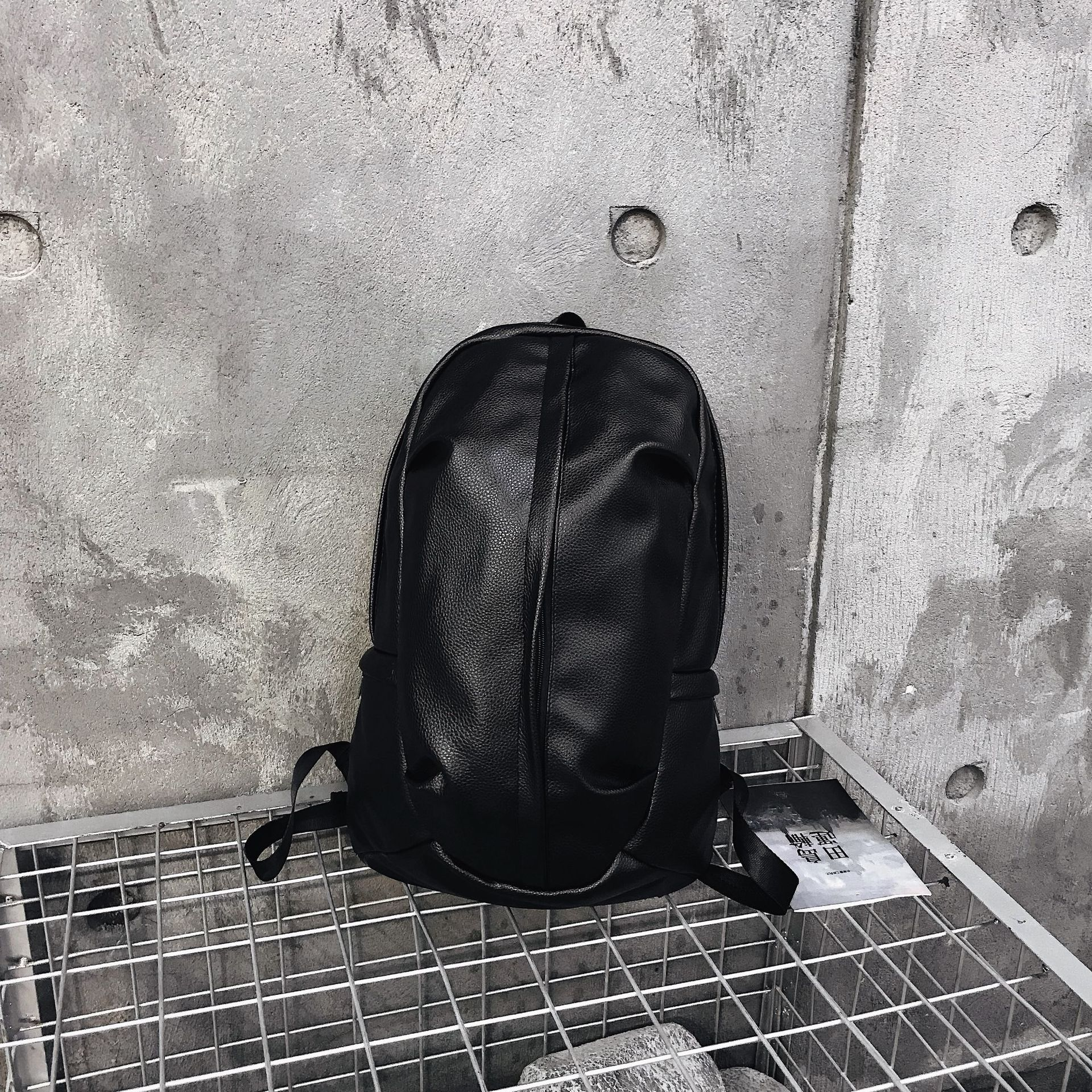 Student bags fashion men 39 s and women 39 s shoulder bags new Korean version of shoulder bags personality backpack fan color backpack in Backpacks from Luggage amp Bags