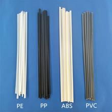 Varas plásticas da soldadura 5x2mm do abs/pp/pvc/pe do comprimento das hastes 200mm para o soldador plástico 40 pces