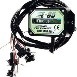 E85 конверсионный набор 4cyl с холодным запуском asst биотопливо e85, этанол автомобиль, конвертер биоэтанола e85 гибкий топливный комплект