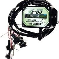 E85 kit de conversão 4cyl com arranque a frio ass. biocombustível e85  carro de etanol  conversor de bioetanol e85 flex kit de combustível|kit hid|car alarm remote casecar cigarette lighter power supply -
