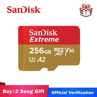 Sandisk tarjeta micro SD U3 V30 160 MB/s Class10 EXTREME PLUS UHS-I tarjeta A2 tarjeta SD de 64GB 128GB 256G tarjeta de memoria flash, tarjeta TF