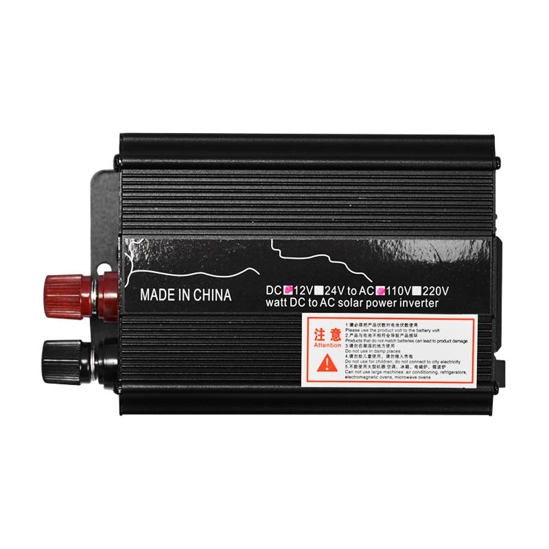 Spannung Transformator Peak 3000W DC 12/24V zu AC 110V/220V Auto LED Solar power Inverter Sinus Welle USB Konverter Überlast Schützen