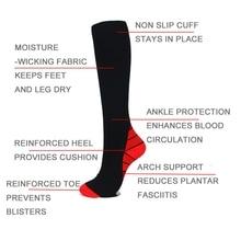 Sports-Socks Professional Women Breathable New for Long-Run Calf