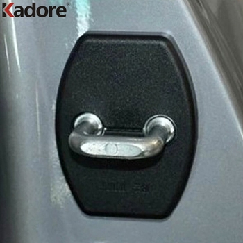 For Toyota Yaris Vios Corolla Altis Camry Prius Scion TC Alphard Sienna Previa Verso Crown Car Door Lock Buckle Cover Trim image