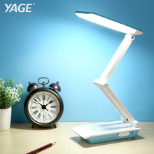 YAGE Desk Lamp Foldable Desk Lamp LED Table Lamp 3-Layer Body 800mAh Battery Table Light  Colorful Night Light Lamp Cloud colorful lotus lamp night light before the buddha for the led long light desk lamps za116446
