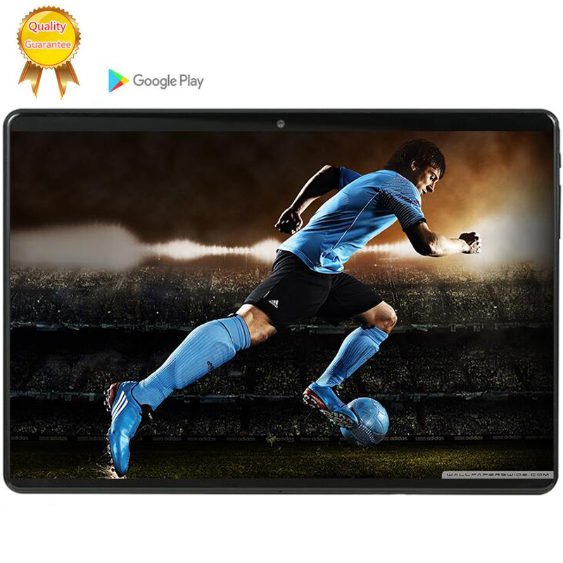 Tablet Holder 64G MTK6753 10.1 Inch Tablet PC Android 9.0 6GB RAM 64GB ROM 8 Octa Cores Dual Cameras 5.0MP 1280 800 IPS 4G Phone