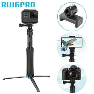 Image 2 - Ruigpro Multi Functionele All In One Aluminium Universele Statief Handheld Monopod Voor Gopro 7 Dji Osmo Action camera Smartphone