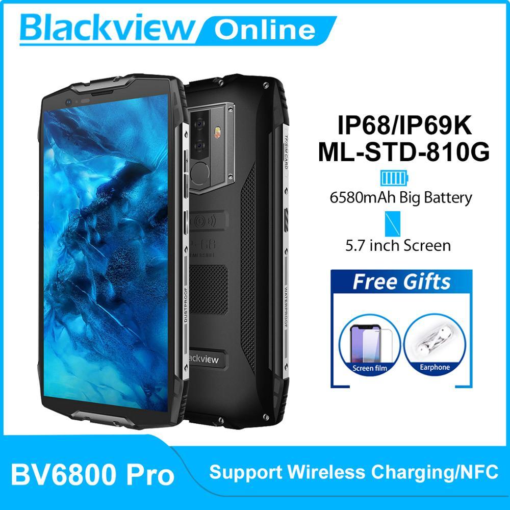 Blackview BV6800 Pro 4GB 64GB Original 4gbb Nfc Gorilla Glass Octa Core Fingerprint Recognition