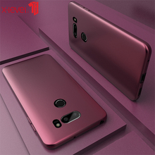 X-Level Ultra Thin Case For LG V30 V50 G6 G7 G8 ThinQ Cases Matte Touch Soft TPU Shockproof Back Phone Cover For LG V40 V50 Case for lg v50 thinq 5g cases cover carbon fiber brushed soft silicone tpu protective phone back cover for lg v50 thinq q7 v40 g7 g6