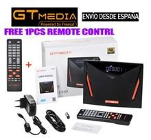 Gtmedia V8 UHD DVB-S2/S2X DVB-T2 DVB-C ISDBT встроенный WiFi Спутниковый ресивер VS V8X V8 NOVA pro2 V7S