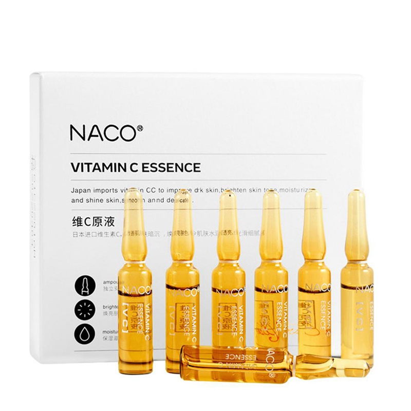 NACO Hyaluronic Acid Ampoule Face Serum Shrink Pores Anti-Acne Nicotinamide Whitening Moisturizing Anti-Aging Wrinkle Skin Care