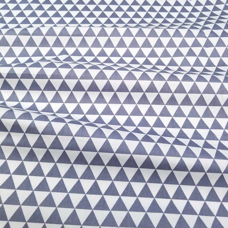Coton sergé tissu enfant tissus Patchwork Textile impression tissu bricolage couture Quilting bébé dortoir feuilles matériel coton tissu