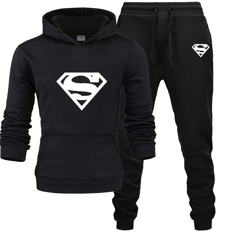 2020 Fashion Jogging Clothing Brand Hooded Sweatshirt Men And Women Hooded Sportswear Sports Suit Sweatshirt + Sweatpants Men