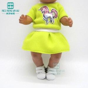 Image 5 - アクセサリーフィット 43 センチメートルおもちゃ新生児人形の漫画豪華なバックパック