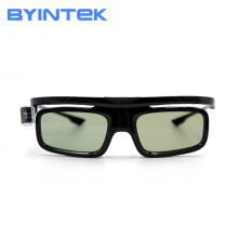 BYINTEK Hot Selling Active DLP Link Shutter 3D Glasses GL1800 for Projector UFO E20 R19 R15 R9 R7 P12