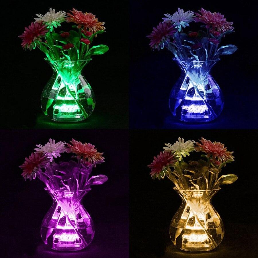 luz submersivel com 10 leds luz para 04