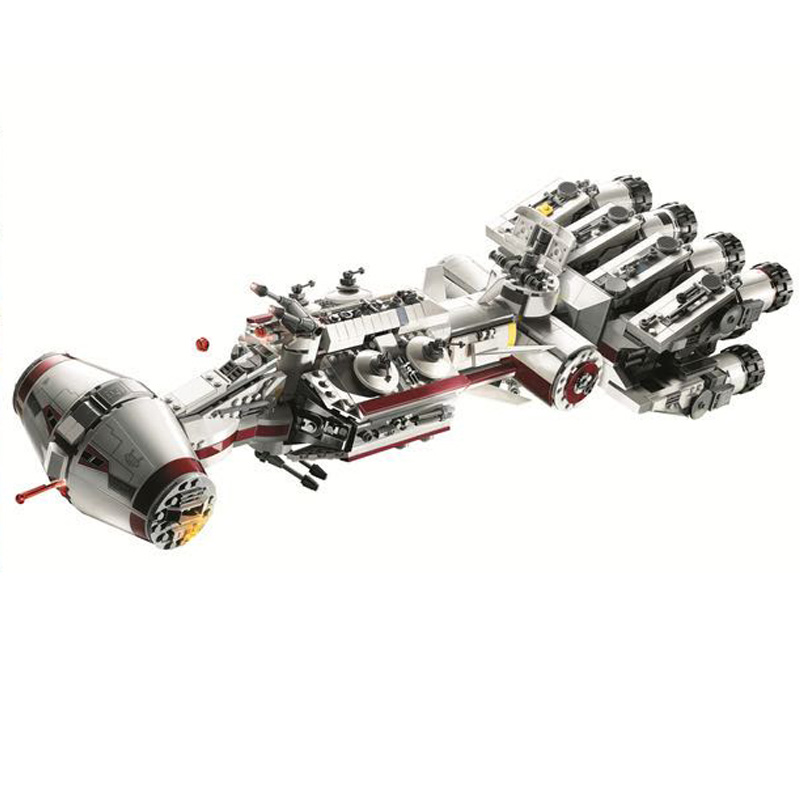 11431 Tantive IV Звездный Корабль Buidling блоки кирпичи Обучающие игрушки подарки на день рождения Рождественская модель