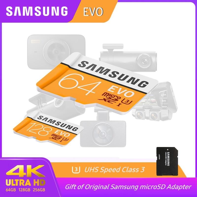 SAMSUNG EVO Micro SD Card 128GB 32GB Class10 Tarjeta Micro Sd UHS-1 Memory Card Tf Flash Card 64GB Cartao De Memoria