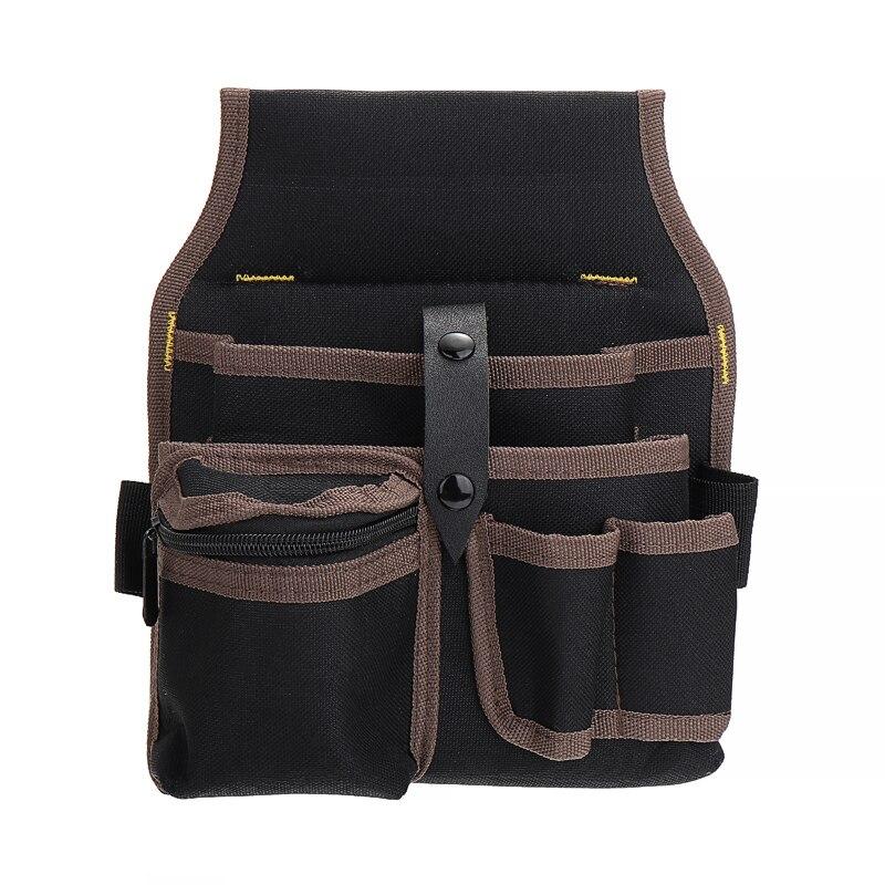 Large Capacity Electrician Bag Waist Pocket Maintenance Pouch Screwdriver Storage Holder Tool Bag