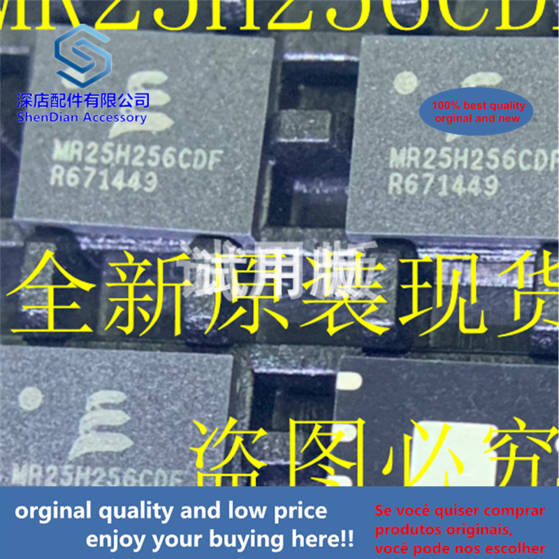 1pcs 100% Orginal And New MR25H256CDF MR25H256CDFR DFN8 Best Qualtiy
