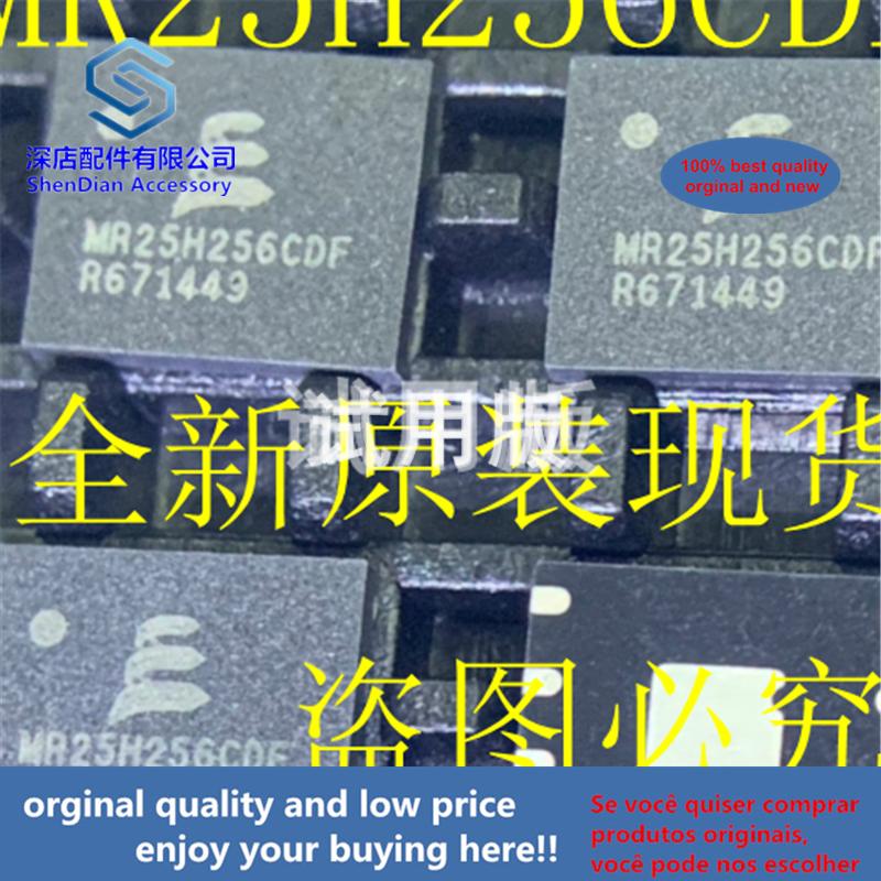 1pcs 100% Orginal And New MR25H256CDF MR25H256CDFR DFN8 Best Qualtiy