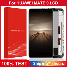 5.9'' Original LCD For HUAWEI Mate 9 Display Touch Screen Digitizer with Frame Display for Huawei Mate 9 LCD MHA-L29 Replacement