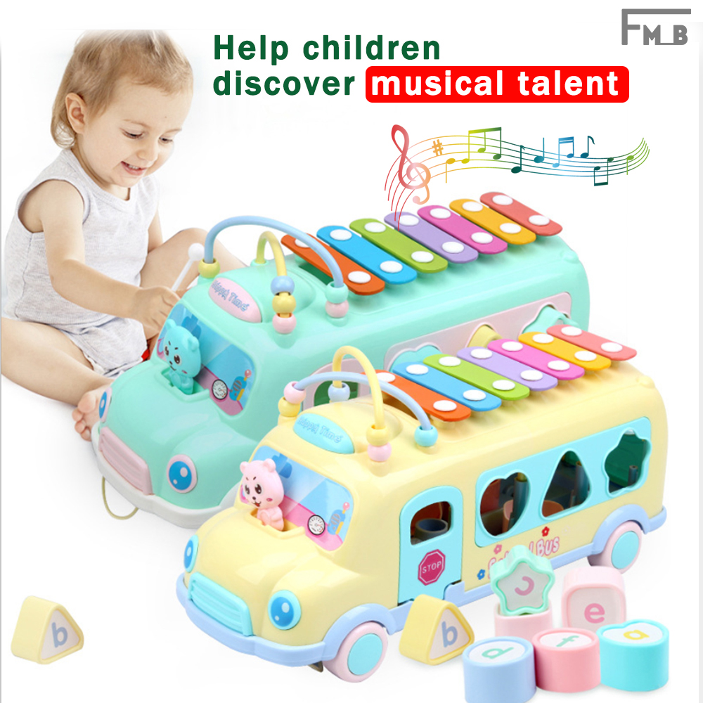 (For 0-3 years old baby)Musical Toy  Knock Piano for baby help children discover musical talent