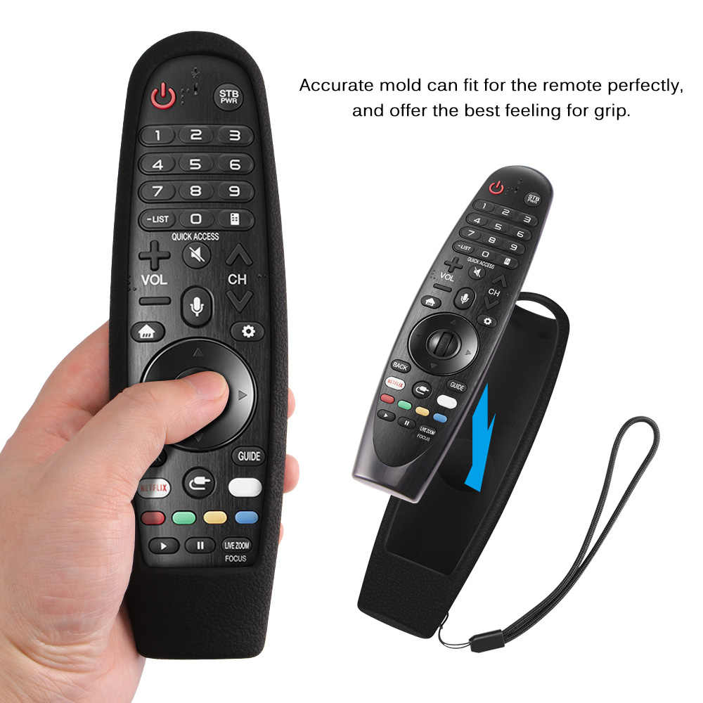 Silikon Remote Control untuk LG Smart Magic Remote Pelindung Silikon Case Remote Control Cover Case Tahan Guncangan