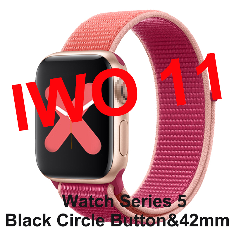 Smartwatch IWO 11 for Apple Android With GPS 1:1 42mm Series 5 Smart Watch Heart Rate Monitor IWO11 Clock PK IWO 10 IWO 8 Plus 9 image