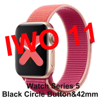 Smartwatch IWO 11 for Apple Android With GPS 1:1 42mm Series 5 Smart Watch Heart Rate Monitor IWO11 Clock PK IWO 10 IWO 8 Plus 9