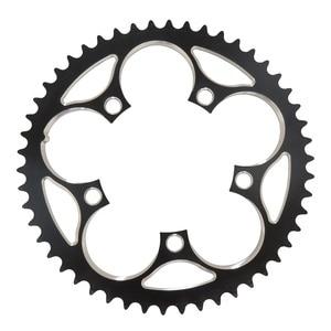 Image 1 - TRUYOU zincir tekerlek yol bisiklet parçaları aynakol katlanır bisiklet aynakol 110 BCD 34T 36T 39T 42T 44T 46T 48T 50T 52T 53T dişli disk