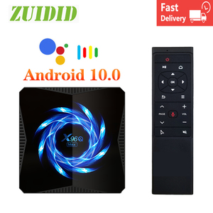X96q max caixa de tv android 10 allwinner h616 4k wifi bt media player play store android caixa de tv inteligente nova tv conjunto caixa superior
