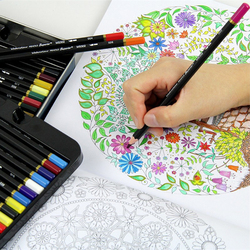 72 kolor ołówki dla dzieci wysokiej jakości woda zestaw kolorowych kredek nietoksyczny zestaw kolorowych kredek Lapices De dla sztuki uczeń