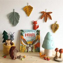 Ins popular nordic criativo boneca simulação animal ouriço brinquedo de pelúcia crianças dos desenhos animados tecido boneca presente