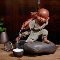 XMT-HOME, новинка, аксессуары для чайной церемонии, монах, заливка, выпавший чай, заварочный чай, домашнее украшение, 1 шт.