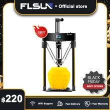 Flsun Q5 3D Máy In Phẩm 2208 Im Lặng Người Lái Tự Động San Bằng 3D Máy In Nối Lại Được Lắp Ráp Sẵn 3D Printers TFT 32Bit ban Kossel
