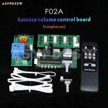 F02A preamplificador de 4 vías/amplificador de potencia Selección de señal tablero de...