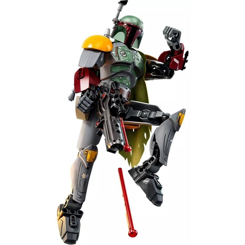 Star Wars Boba Fett Darth Maul Kylo Stormtrooper Phasma Ren Rey Vader Model Assemble Figure Construction Toys For Children 11